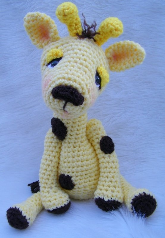Crochet Patterns For Giraffe : Giraffe Crochet Crocheting Pinterest