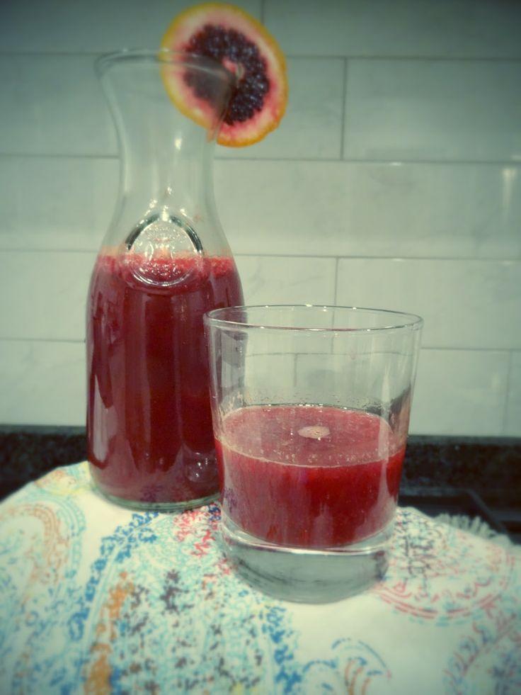sugar free blood orange soda! | Vegan/Vegetarian/Raw | Pinterest