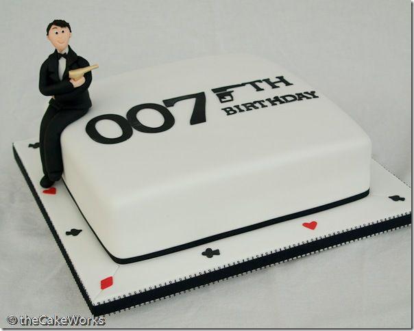 007 birthday cakes