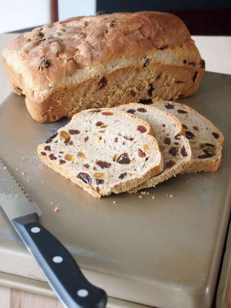 Cinnamon Raisin Bread | Recipe