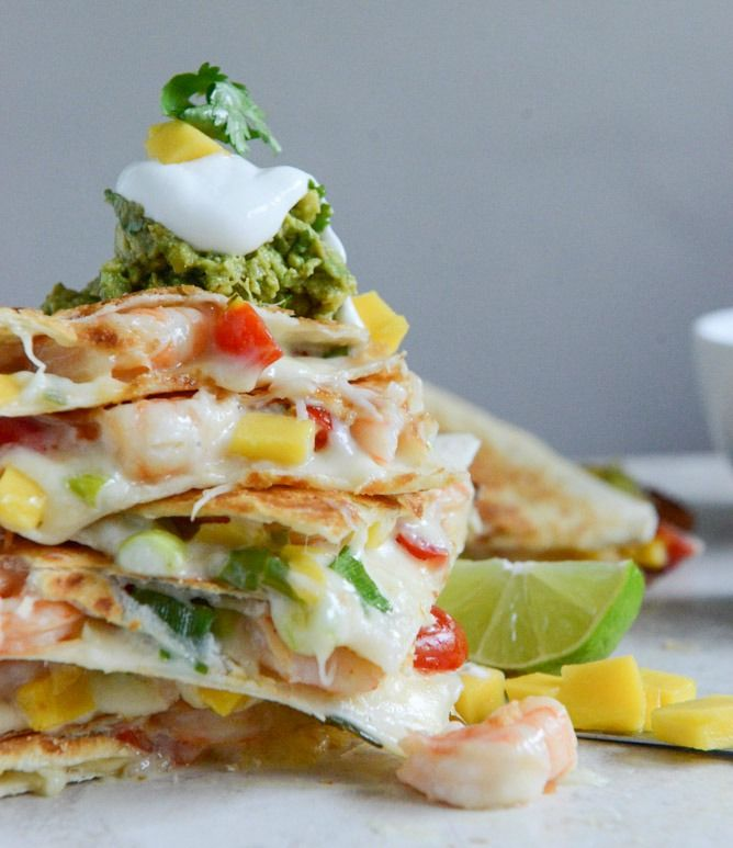 cheese quesadillas cheese quesadillas with guacamole turkey kale ...