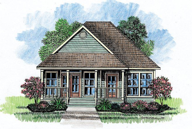 Acadian Style Homes Again Symmetrical Sandy 39 S Idea
