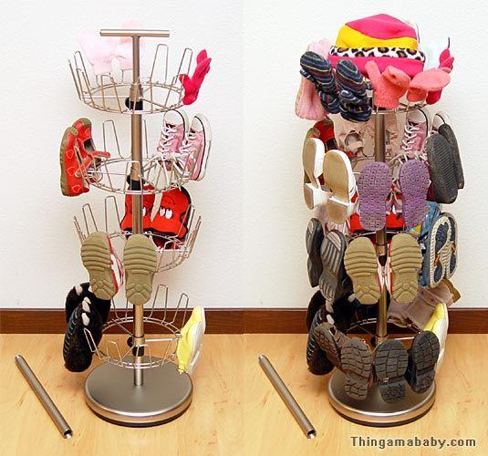 Toddler shoe storage my little baby - Baby shoe organizer ideas ...