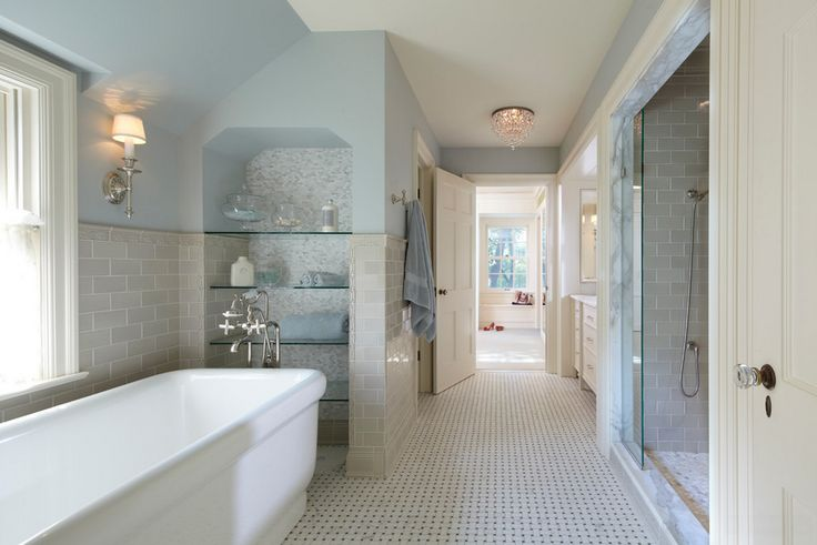 Beautiful Blue Bathroom Bathrooms Pinterest