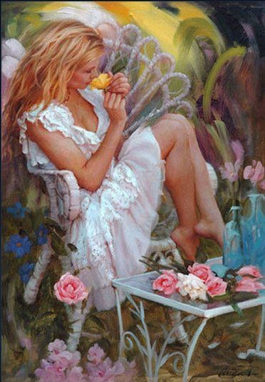 """""""""""Little girls with dreams become women with vision."""" - Unknown, Artist Mark Arian, (~Gabriellyn~)"""