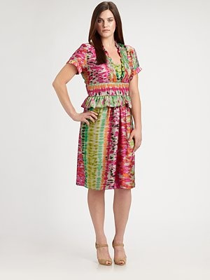 Melissa Masse Plus Size Striped Maxi Dress Melissa Masse ...