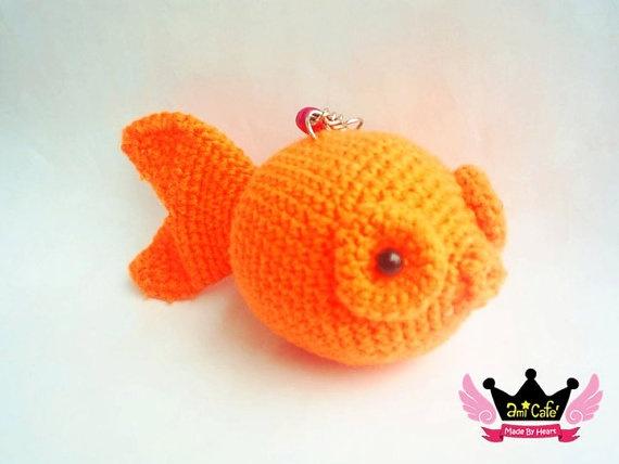 Free Amigurumi Goldfish Pattern : goldfish amigurumi pattern Crocheted Creations Pinterest
