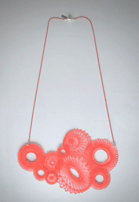 Spirograph Necklace.