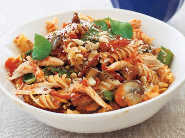 Michael Chiarellos Fusilli Michelangelo with Roasted Chicken | Recipe
