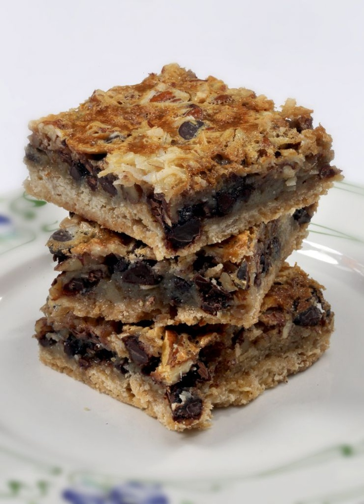 Congo Bars. Yum | yummy recipes | Pinterest
