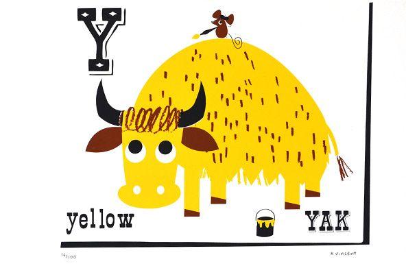 Yellow Yak
