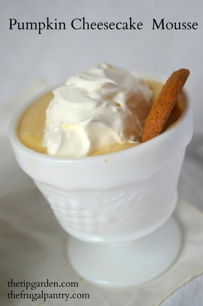 Pumpkin Cheesecake Mousse | Bon Appetit! | Pinterest