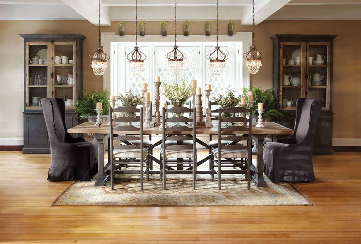 Hancock Dining Table Arhaus Furniture Dining Rooms Pinterest