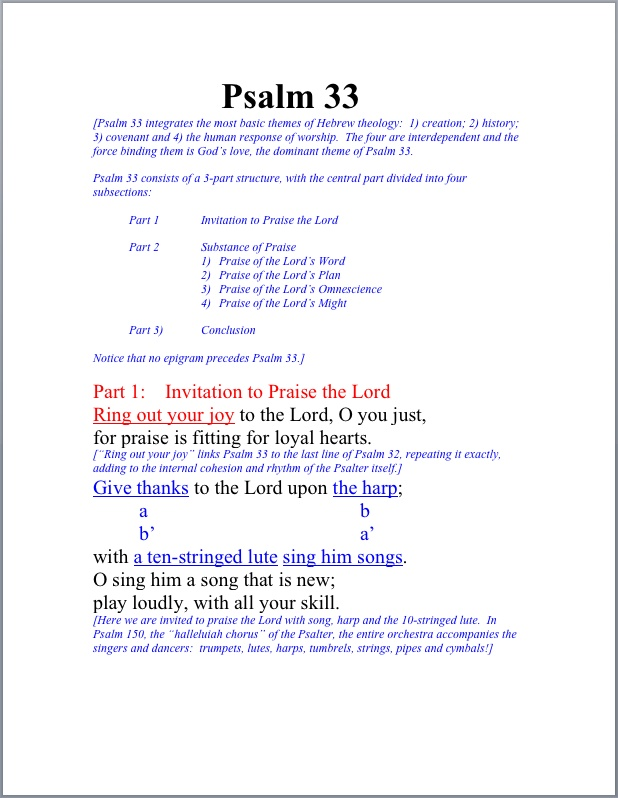 The Psalms Study – Face to Face Conversations with God