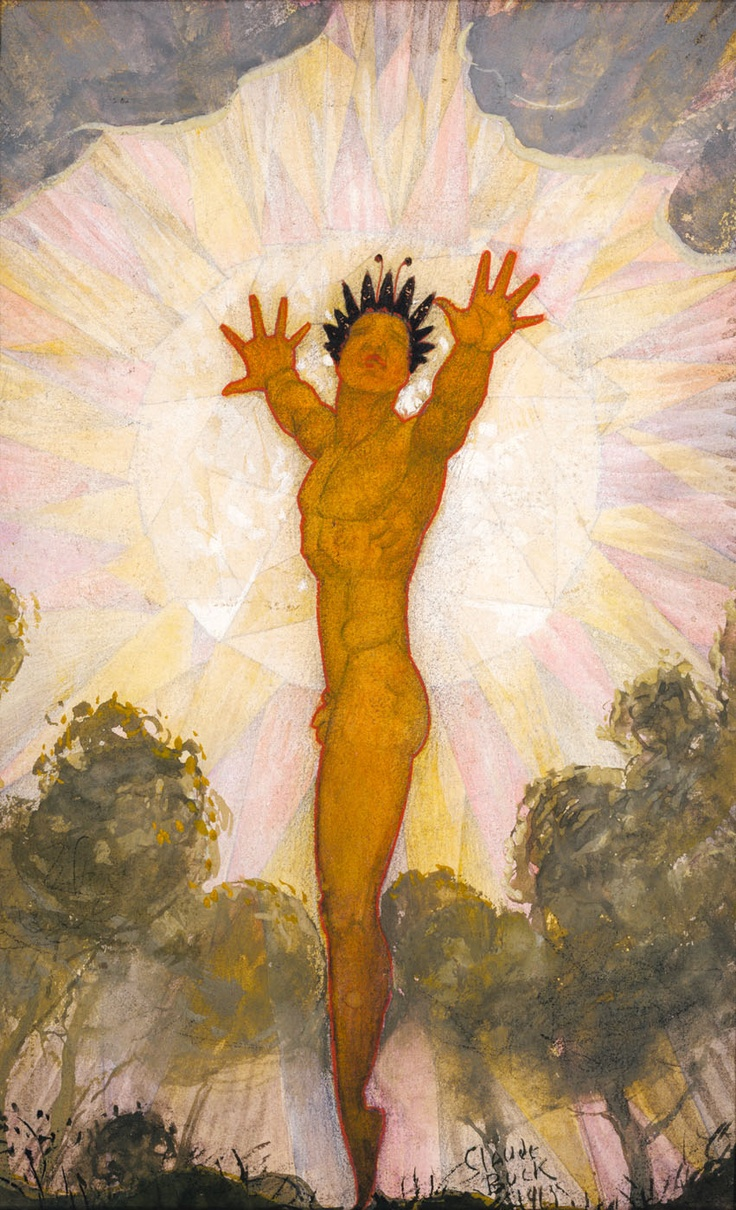 Sunburst - 1913, Claude Buck