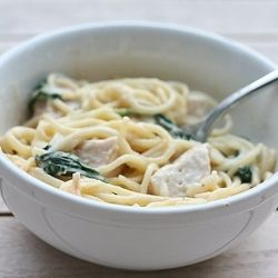 Grilled Chicken Florentine Pasta - a light recipe, and a bonus, my ...