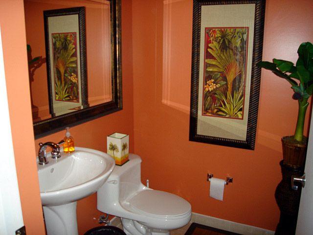 Half bath ideas in new house new home new ideas pinterest for Contemporary guest bathroom design ideas