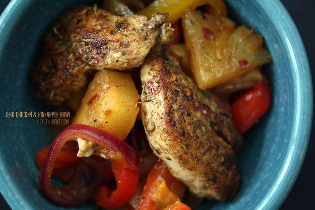 scd jerk chicken amp pineapple bowl substitute honey for coconut sugar