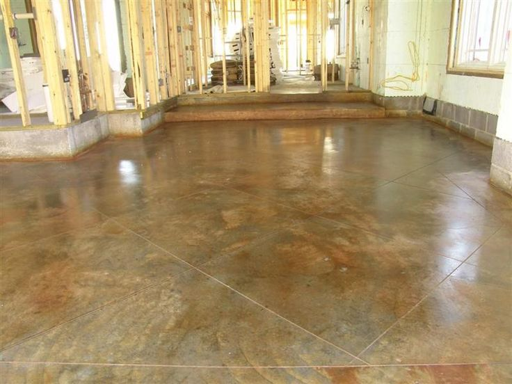 Acid stain : Kemiko Malay Tan | Acid stained concrete ...