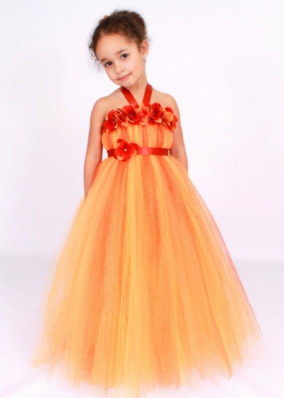 Flower girl dress tutu