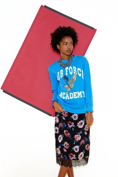 refinery29 how to wear a statement sweatshirt