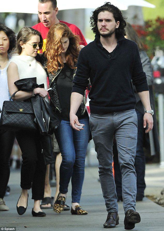 Mmmmmmmm a lunch date    Yes please  Emilia Clarke Boyfriend 2014
