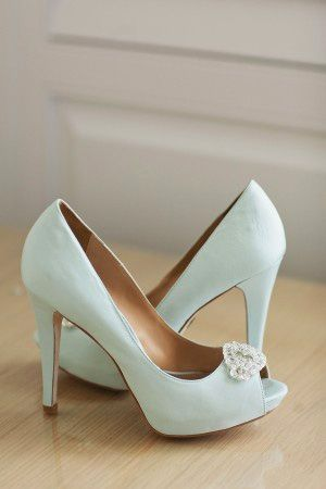 mint wedding - brides of adelaide magazine - wedding shoes