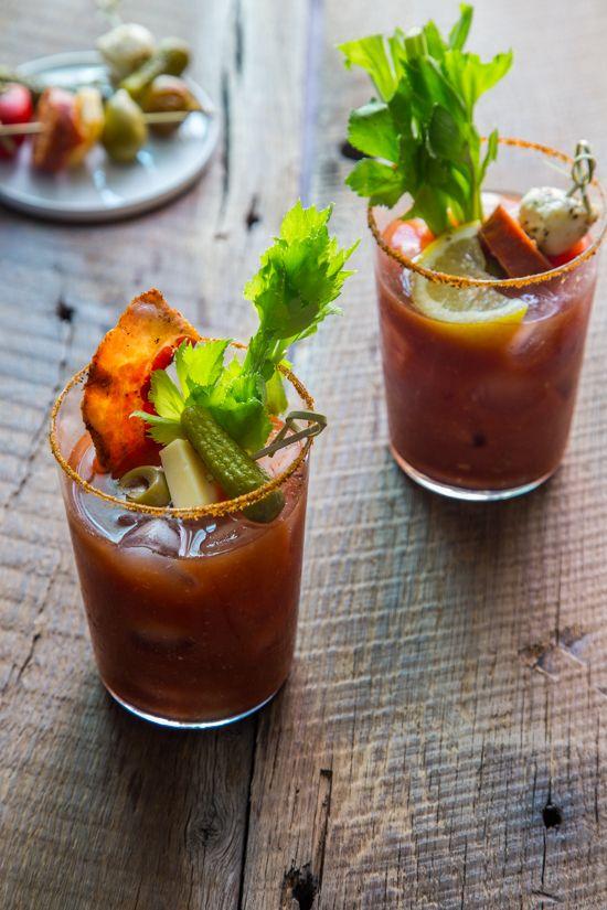 Bloody Mary Bar   www.jellytoastblog.com   #cocktail #party # ...