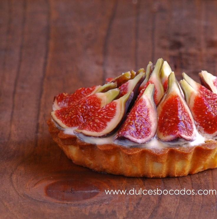 Tarta de higos y mascarpone (fresh fig & mascarpone tart)