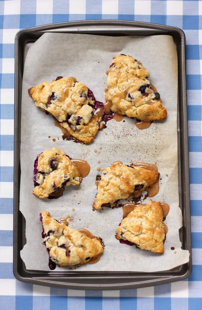 Blueberry Scones with Maple Glaze | BERRIES! (and Cherries) | Pintere ...