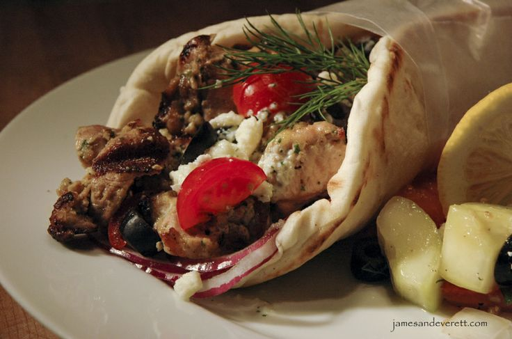Grilled Chicken Souvlaki | food | Pinterest