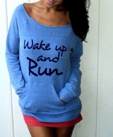 Wake up and run! stchas.edu/run
