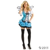 Tourquoise Fairy Adult Halloween Costume