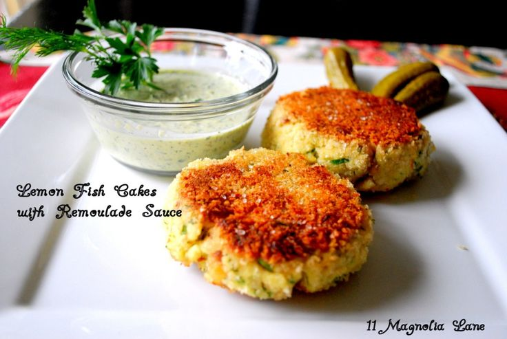 Lemon Fish Cakes | The Chef in Me | Pinterest