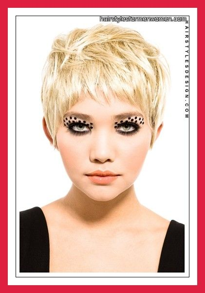 Hairstyles Very Thin Hair : ... Short Hairstyles for Women very short hairstyles for fine thin hair