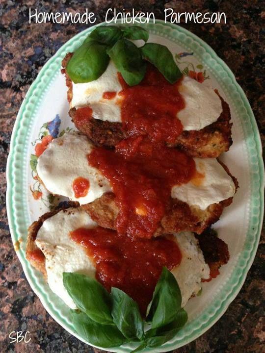 Homemade Chicken Parmigiana Recipes — Dishmaps