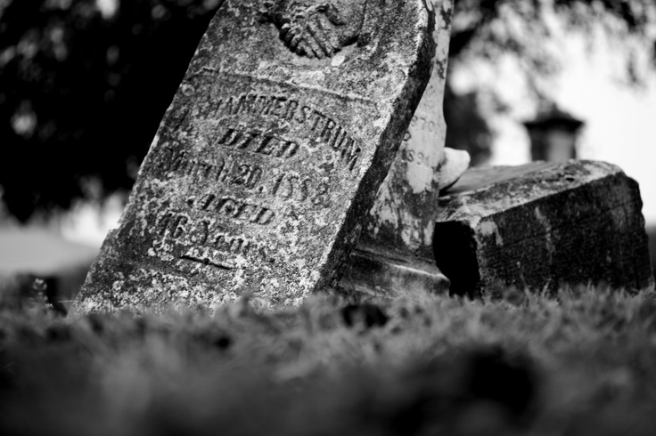 Historic cemetery in Waco, TX right off of #Baylor University's campus @ I-35.