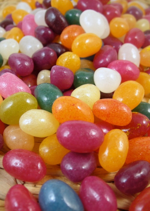 Trader Joe's has naturally flavored jelly beans, with gorgeous ...