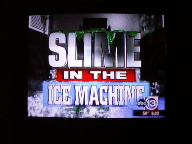 slime in the machine houston
