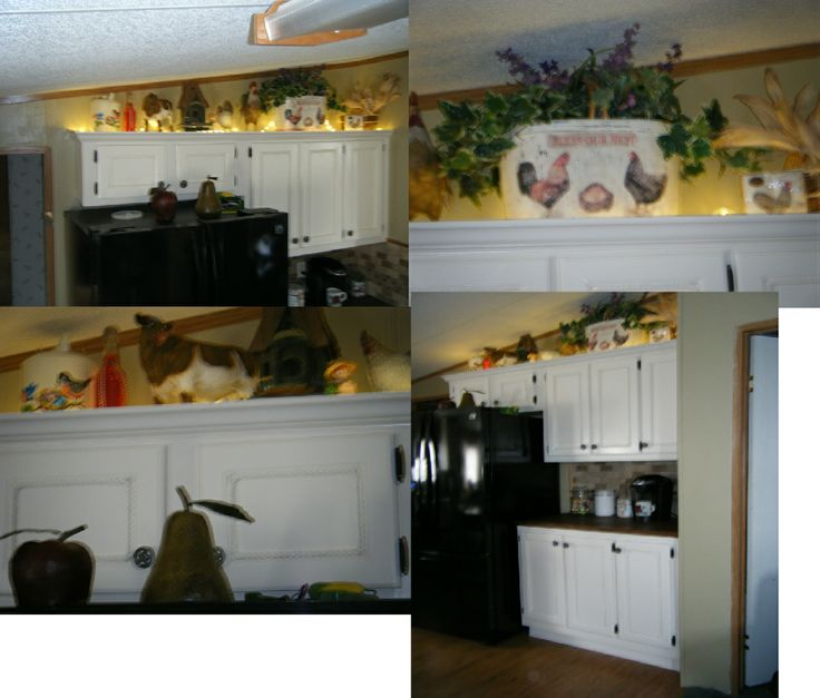 Rope Lighting Above Cabinets