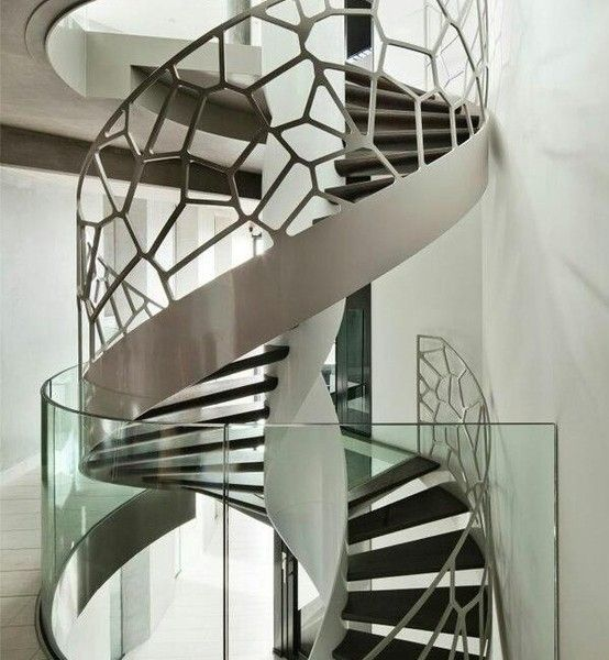 Treppen-metal-design-modern  Interieur Design  Pinterest