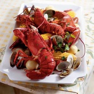 clam bake joy | New England Cuisine | Pinterest