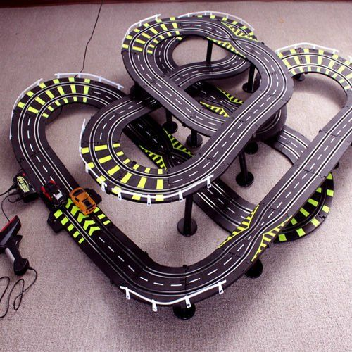 Toy Car Track : Electric race track toys lingerie free pictures