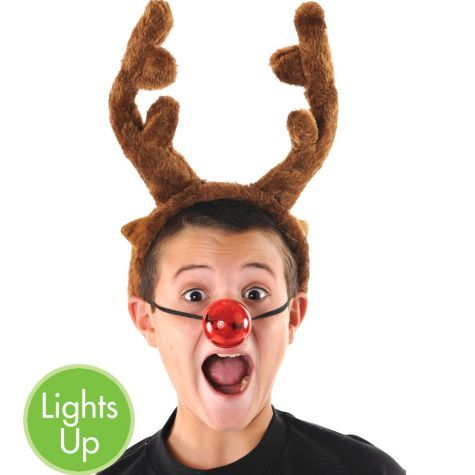 Light-Up Reindeer Nose - Party City: pinterest.com/pin/26810560255693064