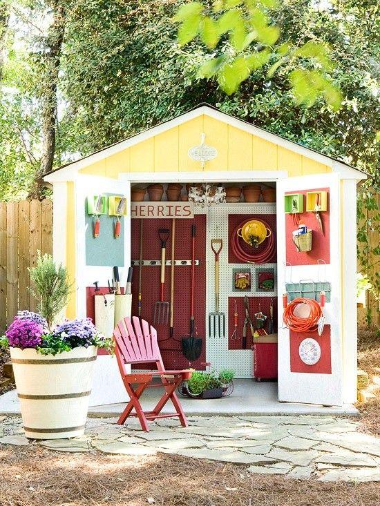Garden Shed Ideas On Pinterest Desk Work