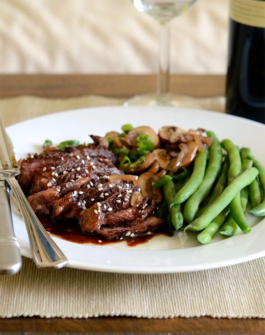 Steak Teriyaki Recipe — Dishmaps