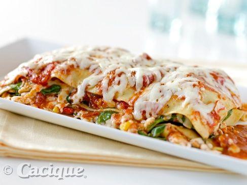 Panela Vegetable Lasagna | Cacique USA