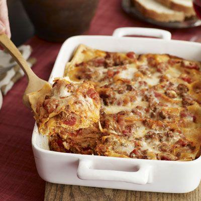 Four-Cheese Lasagna | Recipe