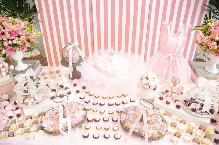 Ballet party via for Ballerina party decoration ideas