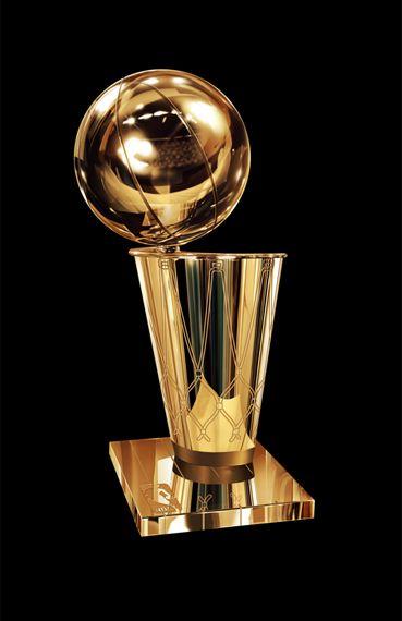 nba finals trophy presentation 2012